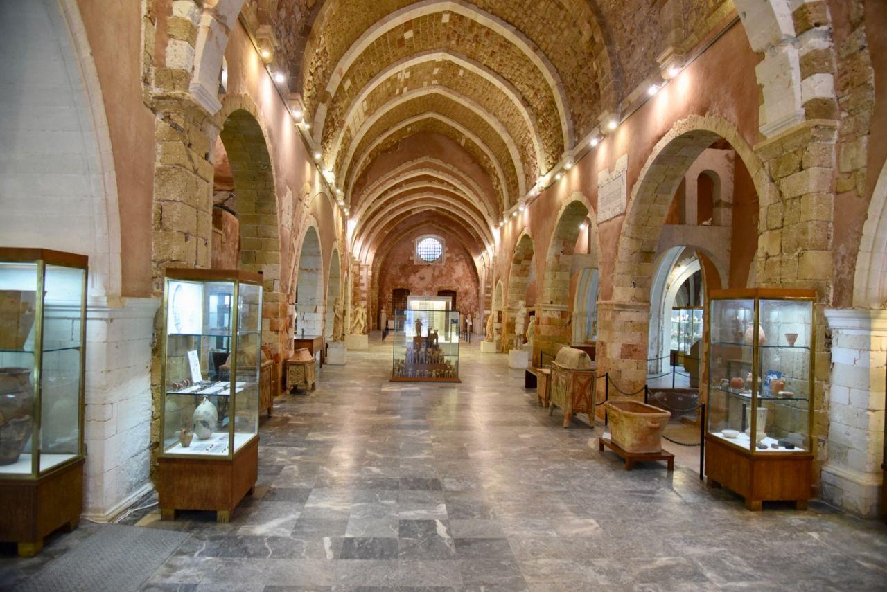 Halle des Archäologischen Museum Chania
