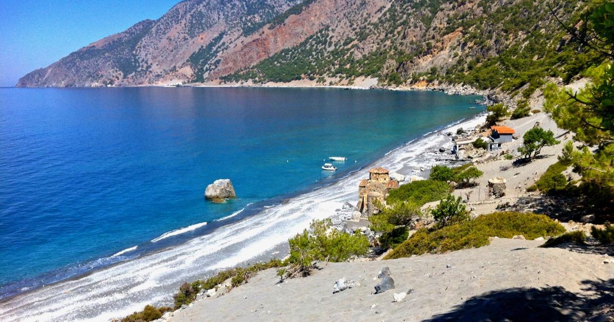 Agios Pavlos an der Südküste Kretas