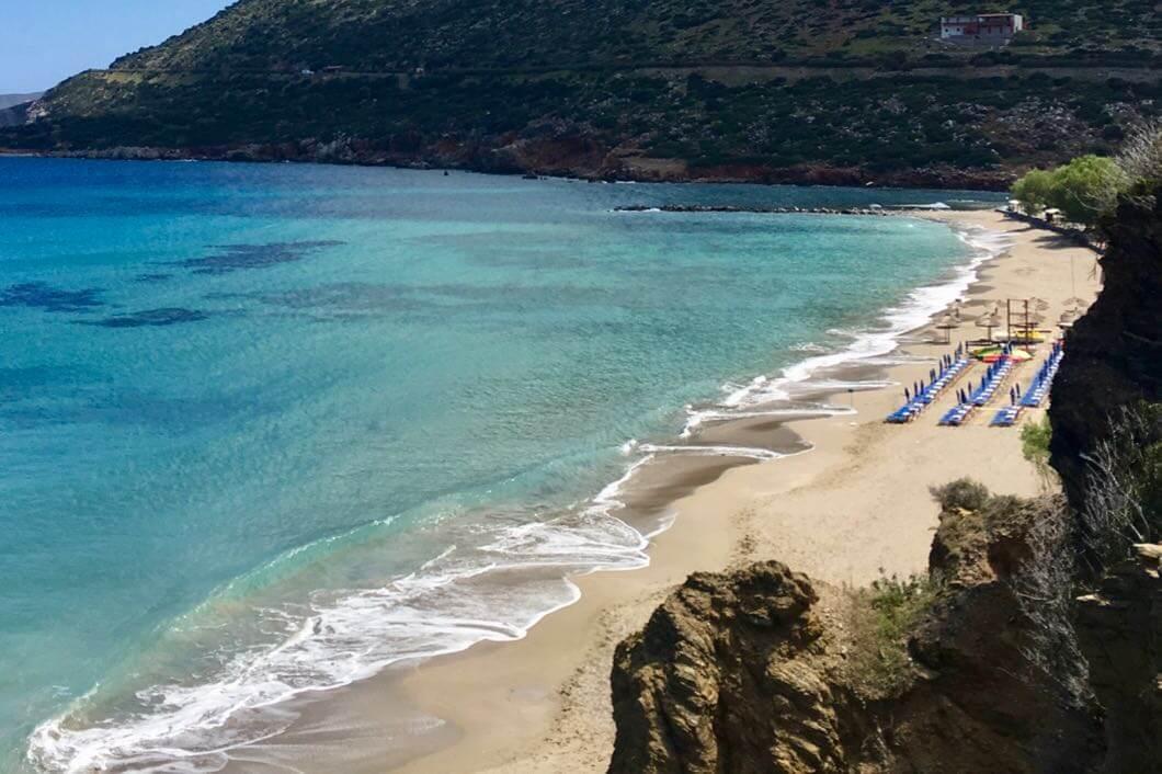 Livadi Strand in Bali auf Kreta