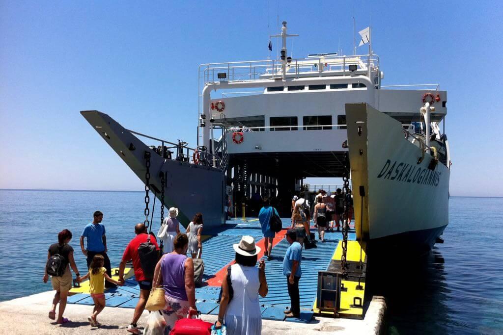 Fähre nach Griechenland und Kreta - Daskalogiannis