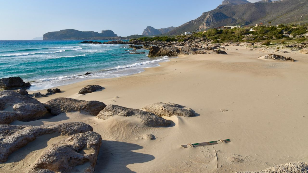 Strandabschnitt von Falassarna