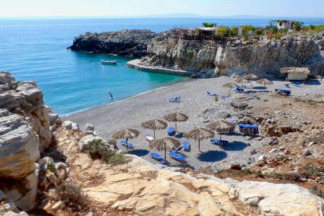 Wandern auf Kreta - Marmara Beach