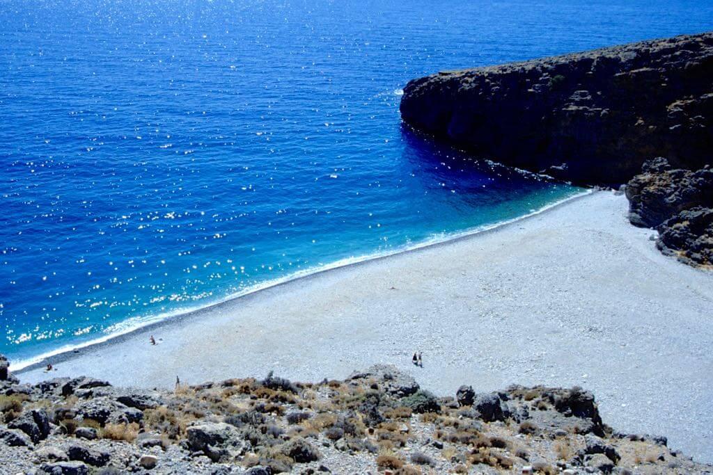 Strände kreta fkk auf Insel Zakynthos