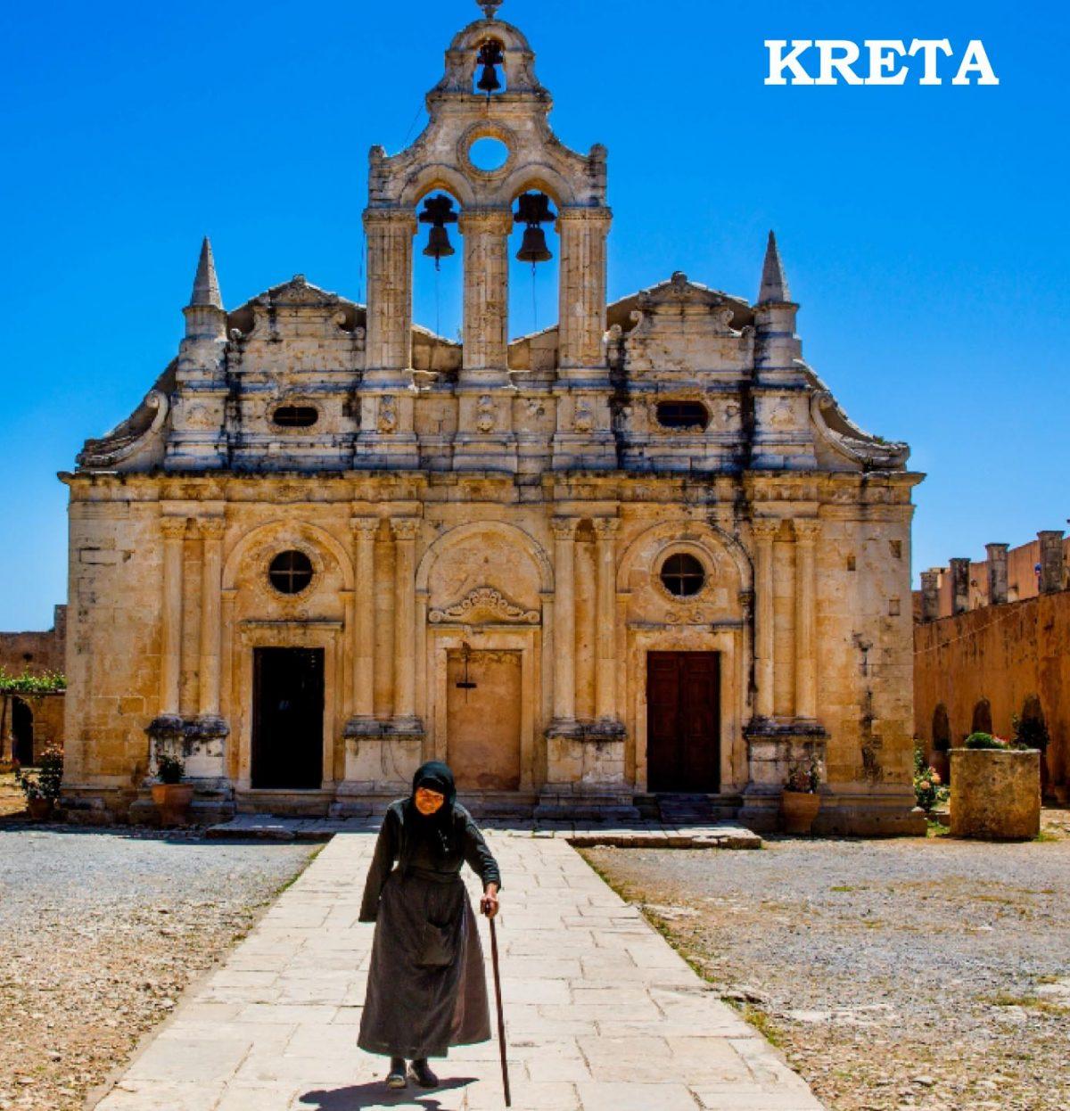 Kreta Bildband-Cover von Raimund Franken