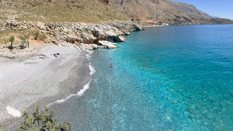 Marmara Beach - Ausgang der Aradena Schlucht