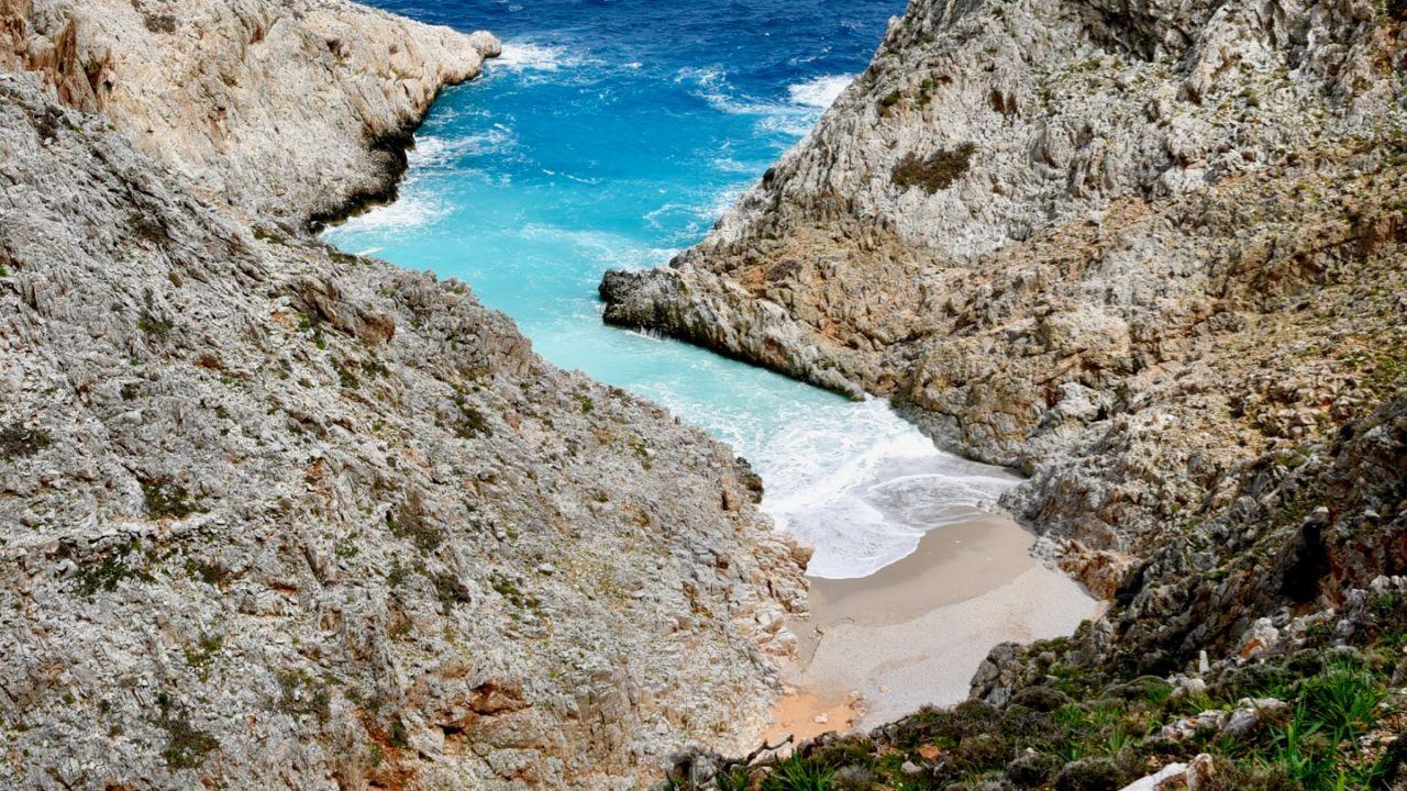 Seitan Limania Strand auf Kreta